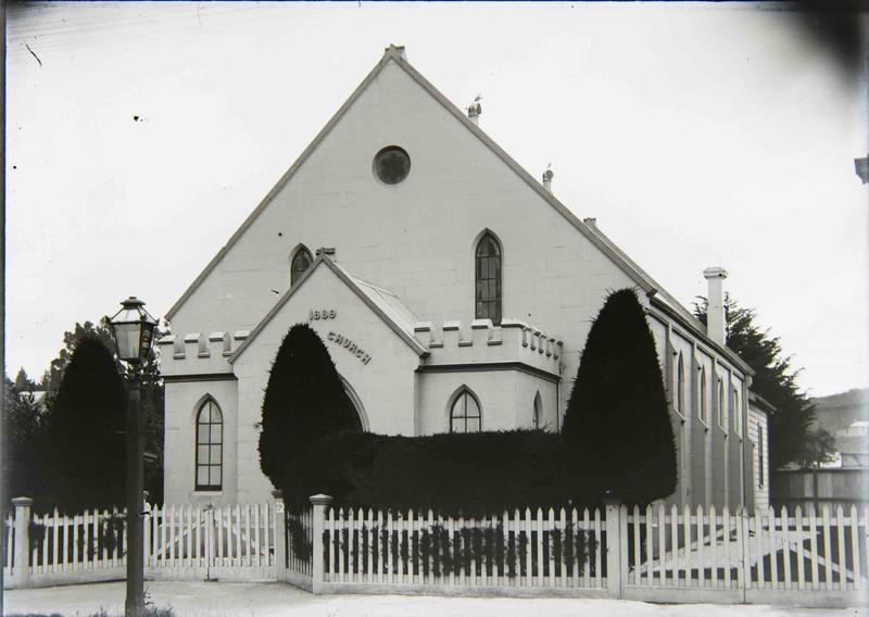 Image credit: Oamaru Baptist Church, Severn Street, Collection of the Waitaki District Archive. Id 101881