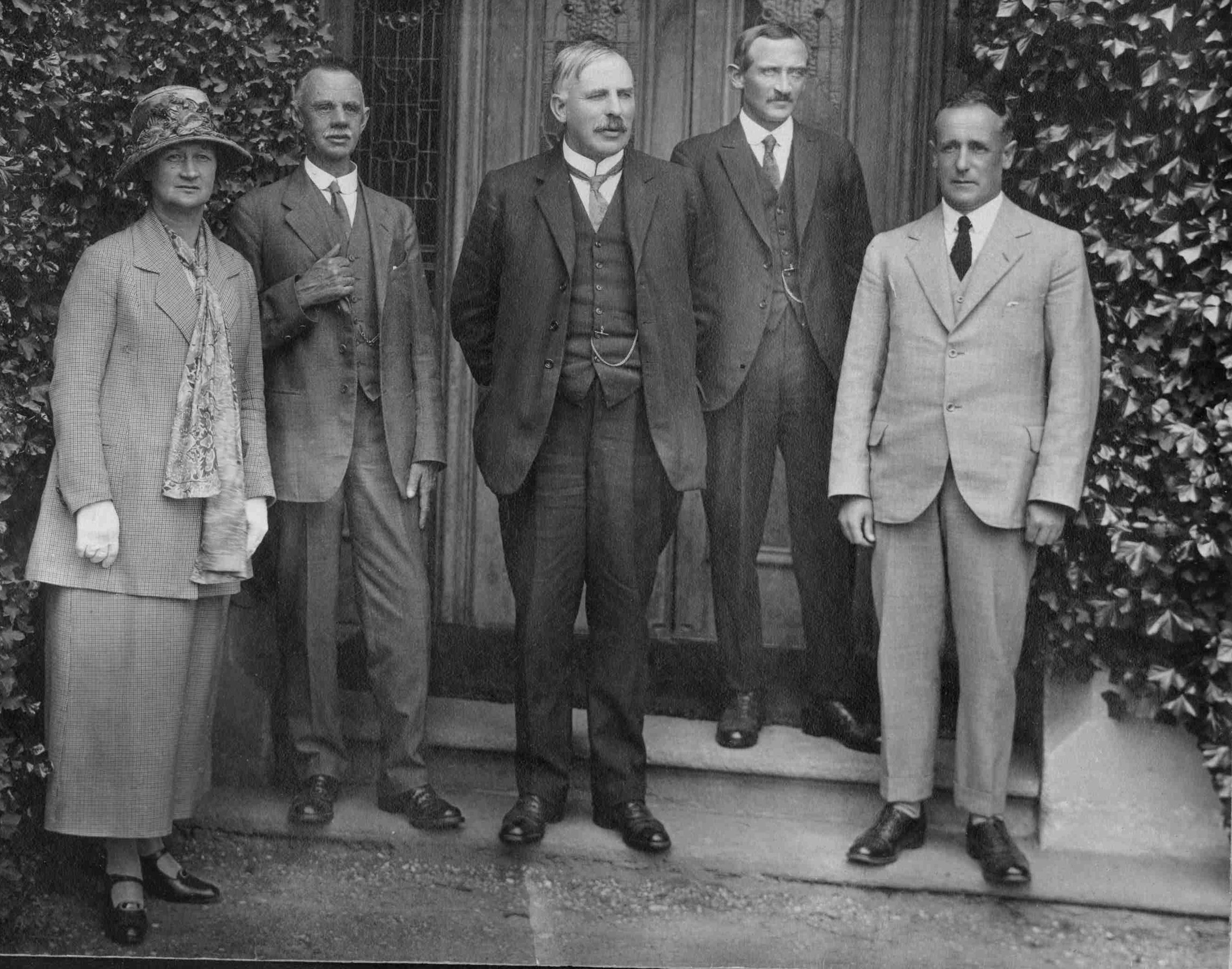 Sir Ernest Rutherford visit to Waitaki Boys High School 1925, Waitaki District Archive P0030.36.3