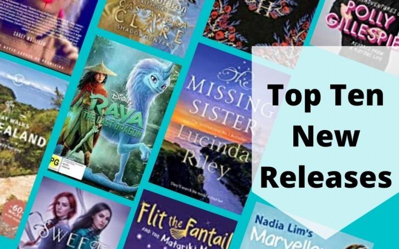 Top Ten New Releases June 2021