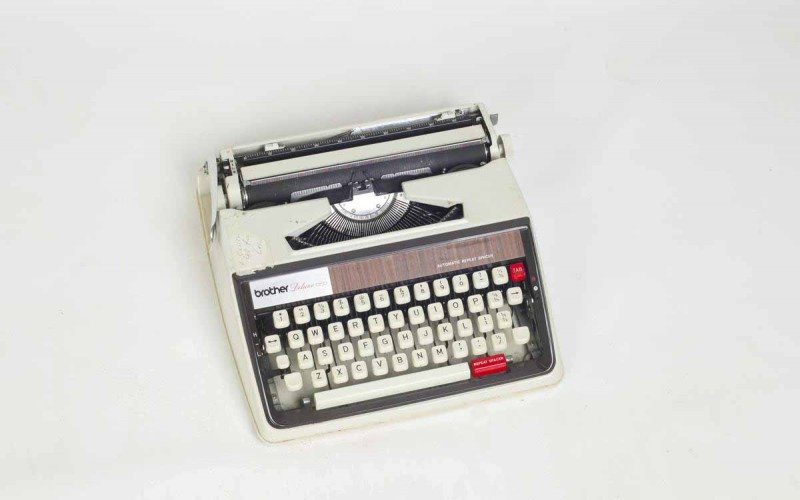 Image: Janet Frame's Typewriter, Collection of the Waitaki Museum. Id 538