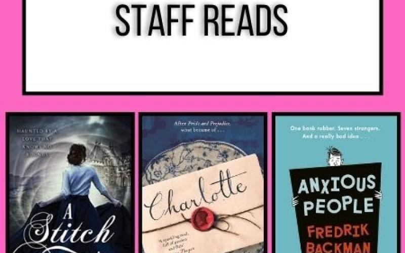 Staff Reads April 2021