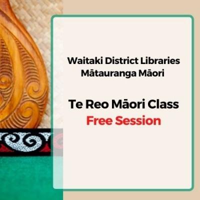 Te Reo Maori Class July 2021
