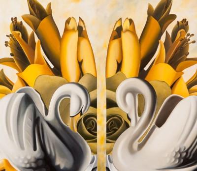 Image: Inspiration (detail), Rod Eales, oil on board
