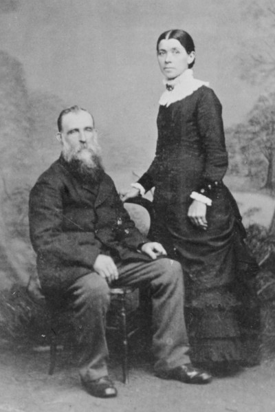 Mrs and Mrs Thomas Ferens, Collection of Waitaki District Archive P0027.25.11.1