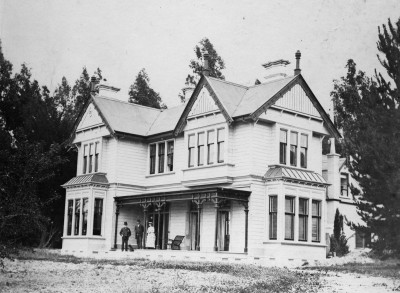 Alexander McMaster's Boundary Creek residence, Collection of Waitaki District Archive 4031