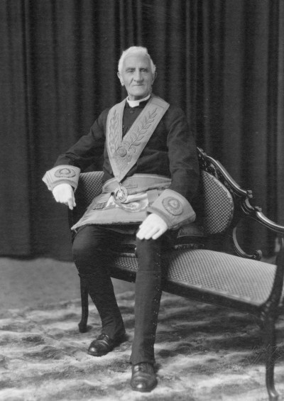 Archdeacon Russell, Collection of Waitaki District Archive 4194