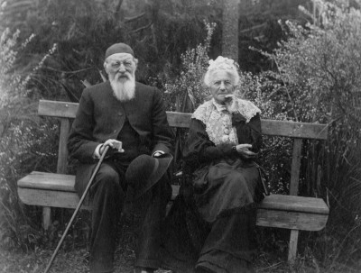Algernon and Sarah Anne Gifford, Collection of Waitaki District Archive 6095