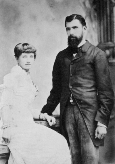 John and Fanny Bulleid, Collection of Waitaki District Archive 6566