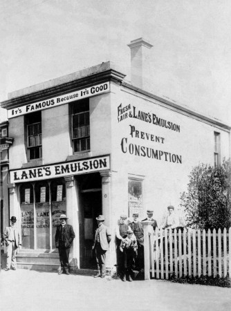 Lane's Pharmacy, Tees St, Oamaru. Waitaki District Archive 722