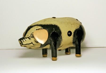 Tin Toy Pig, North Otago Museum 88/496