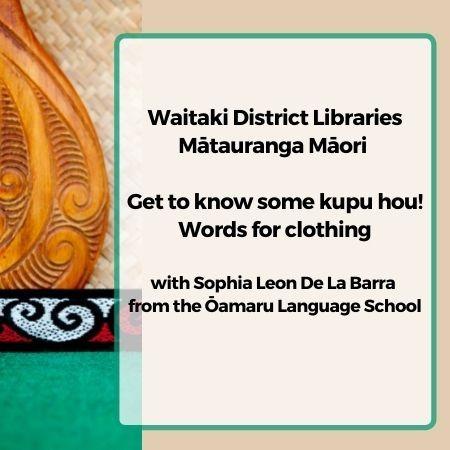 Mataurangi Maori Words for Clothing