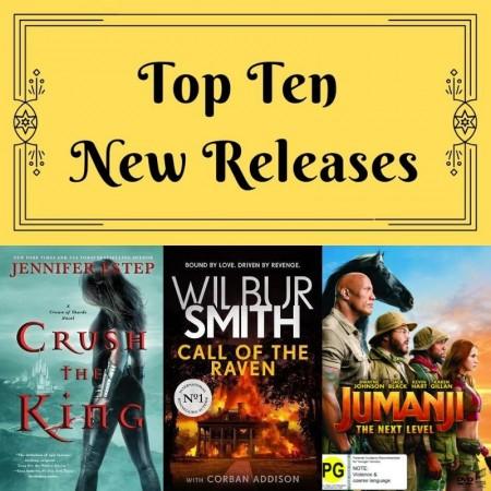 Top Ten: New Releases