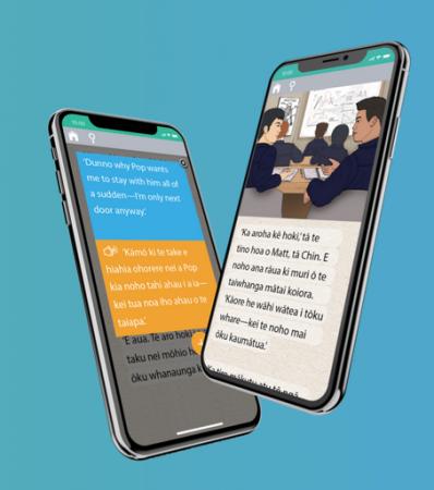 Lingogo app on a smart phone
