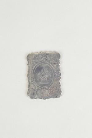 Silver visiting card case WMA93/119