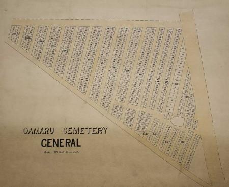 Oamaru General Cemetery, Waitaki District Archive 6045
