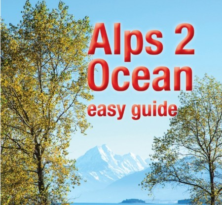 Picture of Alps 2 Ocean Easy Guide book cover