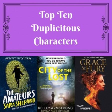 Top Ten: Duplicitous Characters