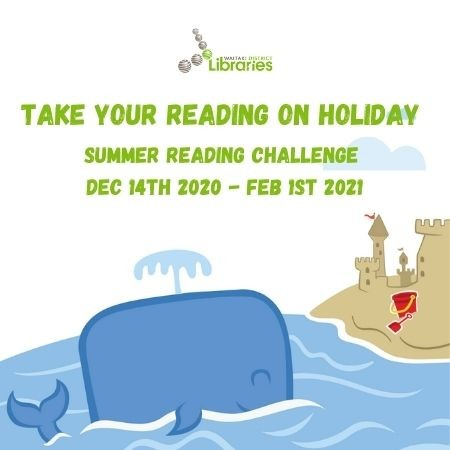 Waitaki District Libraries Summer Reading Challenge 2020