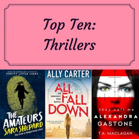 Top Ten: Thrillers