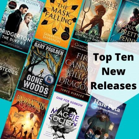 Top Ten New Releases July 2021