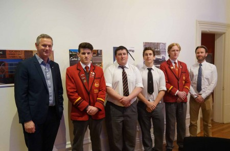Waitaki Boys' High School Senior Graphics Project