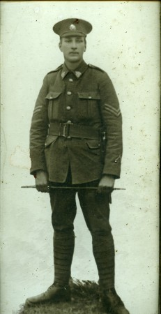 Edward John Weller in uniform