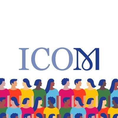ICOM logo for International Museum Day