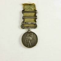 Fitgerald, Peter. Crimean War Medal. North Otago Museum Collection 01/167