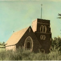 St Andrews Anglican Church, Maheno. Collection of the Waitaki Archive. Id 158248