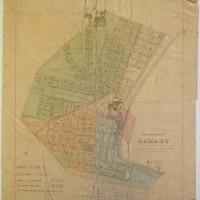 Plan of the town of Oamaru 1860, Waitaki District Archive 568