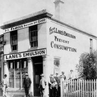 Lane's Pharmacy, Tees St, Oamaru. Waitaki District Archive 722