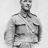 Photograph of Donald Forrester Brown VC in uniform