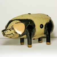 Tin Toy Pig, North Otago Museum 88/496