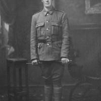 William Neill in uniform