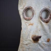 PH helmet gas mask World War One
