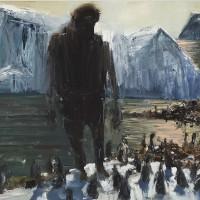 Euan Macleod, Man and Penguins, 2010
