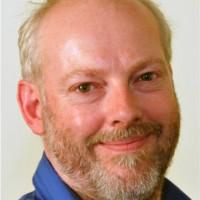Geopark presenter David Barrell