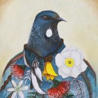 Artwork by Sally Lory - Waitaki Girls High School