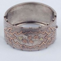 Silver Bracelet presented to Miss Spedding, North Otago Museum 02/19