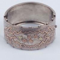 Silver Bracelet presented to Miss Spedding, North Otago Museum 02/19