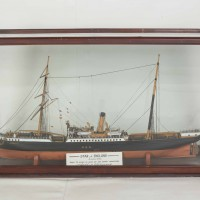 Model of the S.S. Star of England, North Otago Museum 79/245