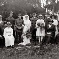 Mabel Munro and David Neave's wedding