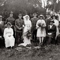 Mabel Munro and David Neave's wedding
