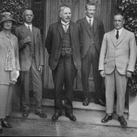 Sir Ernest Rutherford visit to Waitaki Boys High School 1925, Waitaki District Archive P0030.36.3