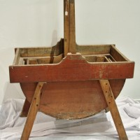 Wooden Rocker Washing Machine