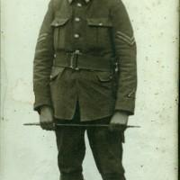 Edward John Weller in uniform