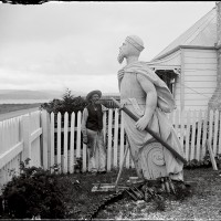 William Williams, Figurehead of the ship Northumberland, c1880s.