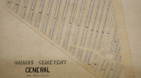 Oamaru General Cemetery, Waitaki District Archive 6045